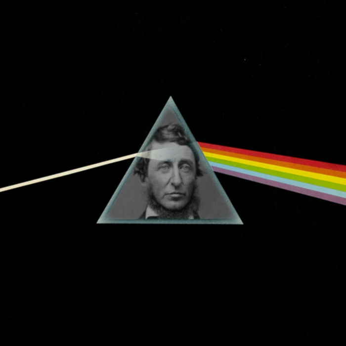 Thoreau in the Dark Side of the Moon Album Cover