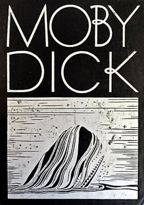 Cover of Moby-Dick (1930, Random House)